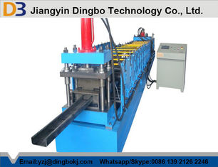 C Channel Steel Purlin Roll Forming Machine For Pre-Engineering House