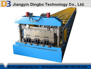 22kw Steel Galvanized Board Floor Deck Roll Forming Machine For Material Handling