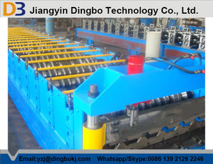 Roof Panel Sheet Metal Roll Forming Machine With High Speed And Low Labor