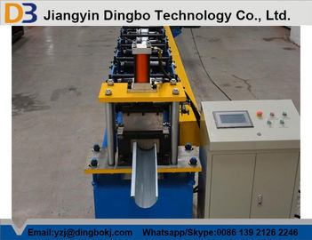 Galvanized Steel Downspout Forming Machine / Rain Water Gutter Making Equipment