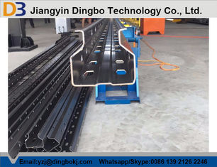 Storage Pallet Upright Rack Roll Forming Machine Warehouse / Supermarket Metal Steel Shelving