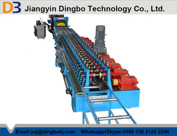 Euro Style Door Frame Roll Forming Machine With Chain Or Gear Box Driven System