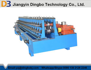 Automatic Easy Operation Door Frame Roll Forming Machine With PLC Control System