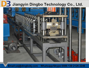 Auto Shutter Door Making Machine , Metal Rolling Equipment Customized Roller